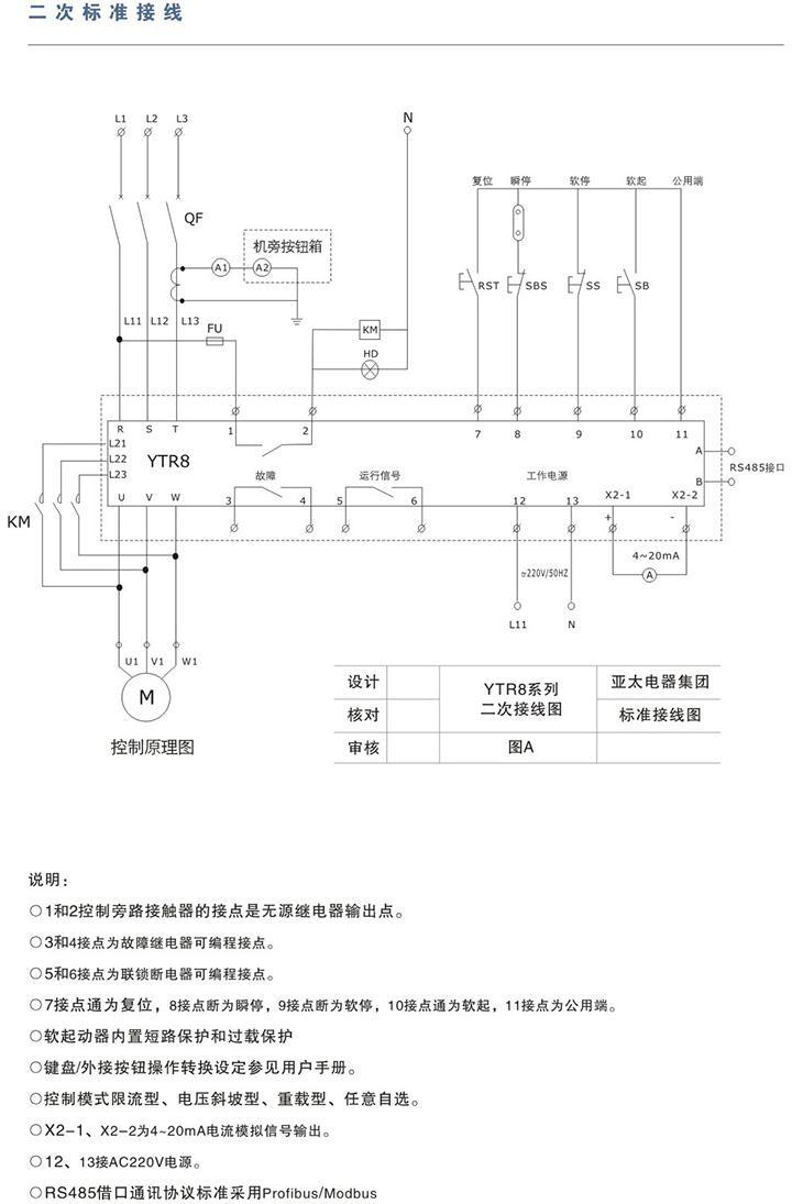 ytr8系列电机软起动器